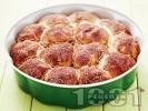 Рецепта Домашни питки със сирене, бяло брашно и масло